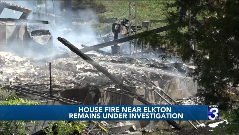 Ax-wielder prevents firefighters from dousing Elkton housefire
