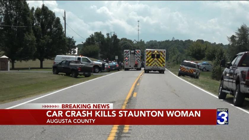 Staunton woman killed, 1 injured in head-on crash along Rt