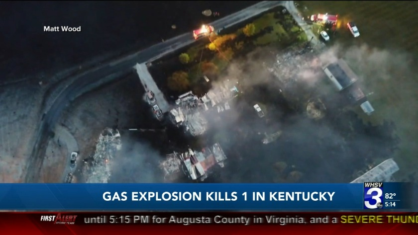 1 dead, several missing after massive explosion in Kentucky