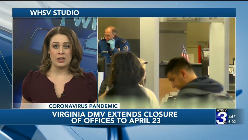 Virginia Dmv Extends Closure Of Offices To April 23