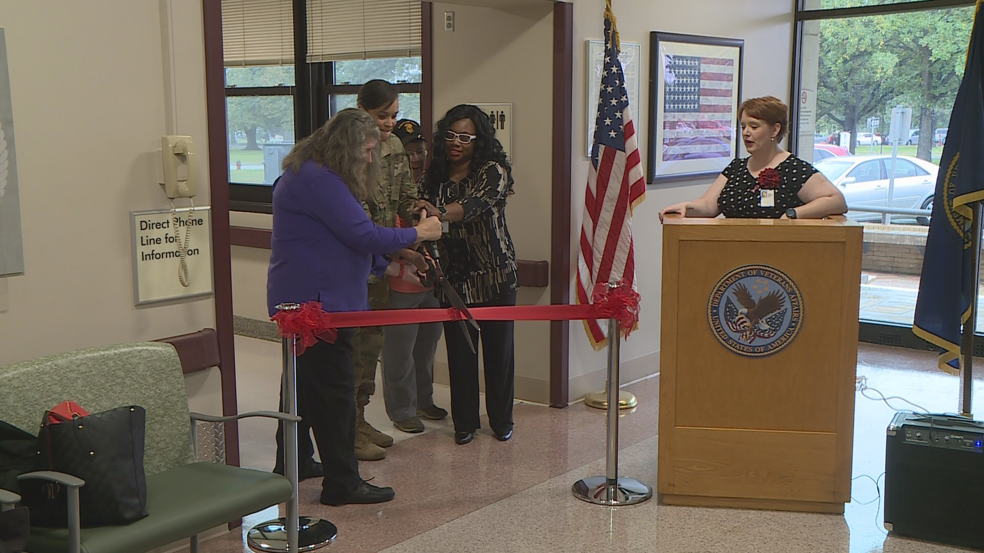 Va Topeka Ks >> Va Celebrates New Women S Health Center