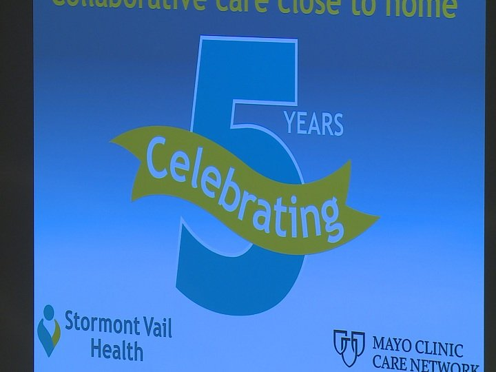 Stormont Vail and the Mayo Clinic celebrate five year