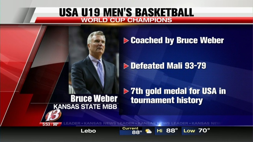 Bruce Weber leads USA U19 men's basketball team to World Cup title
