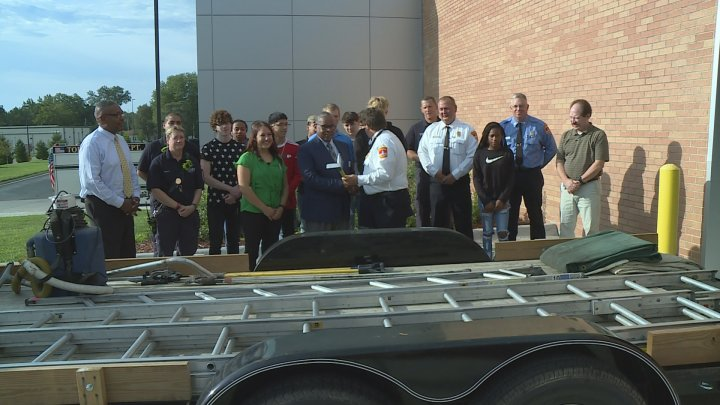 Topeka Fire Department Donates Fire Equipment to TCALC