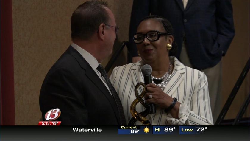 Schwerdt honored for dedication to Topeka Public Schools