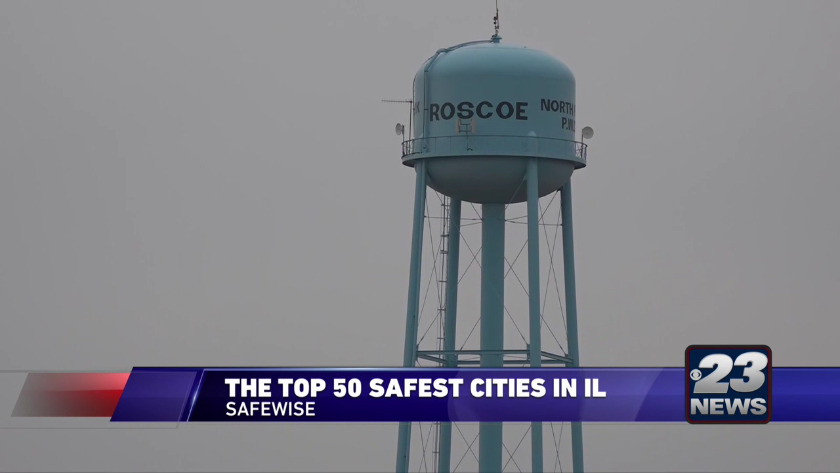 Roscoe named one of the safest cities in Illinois