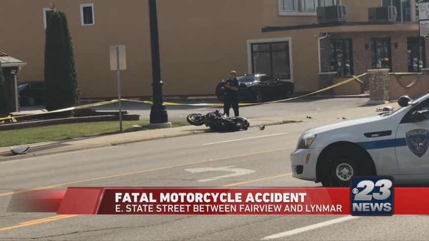 34-year-old man dies after motorcycle accident, part of E  State