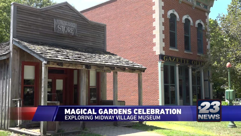 Magical Gardens at Midway Village Museum