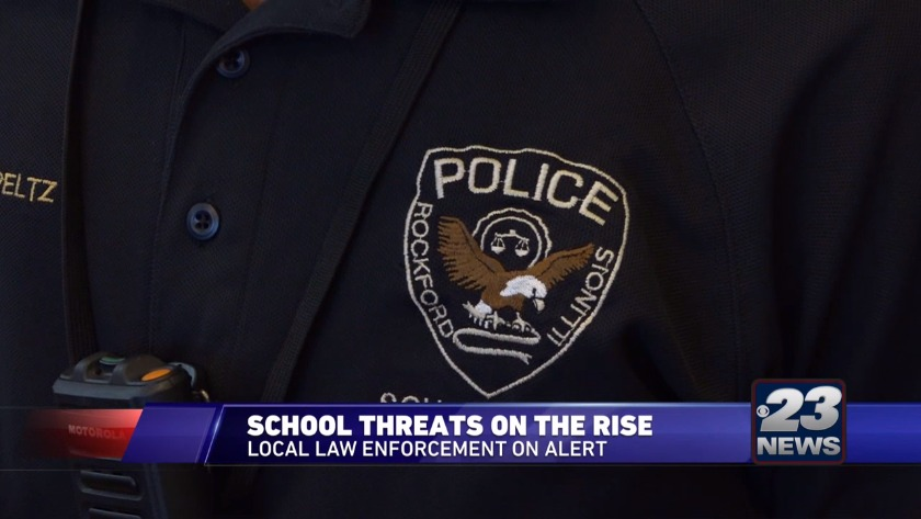 Police deal with threats at local schools