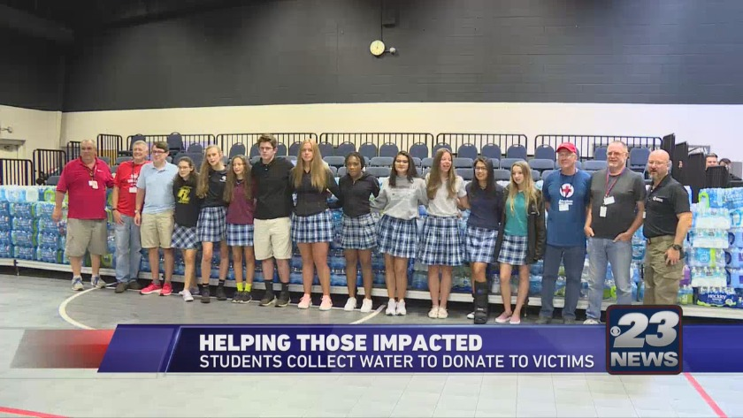 Rockford Lutheran help with hurricane relief