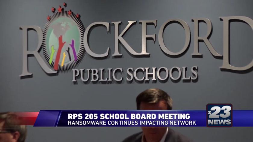Rockford Public school meeting