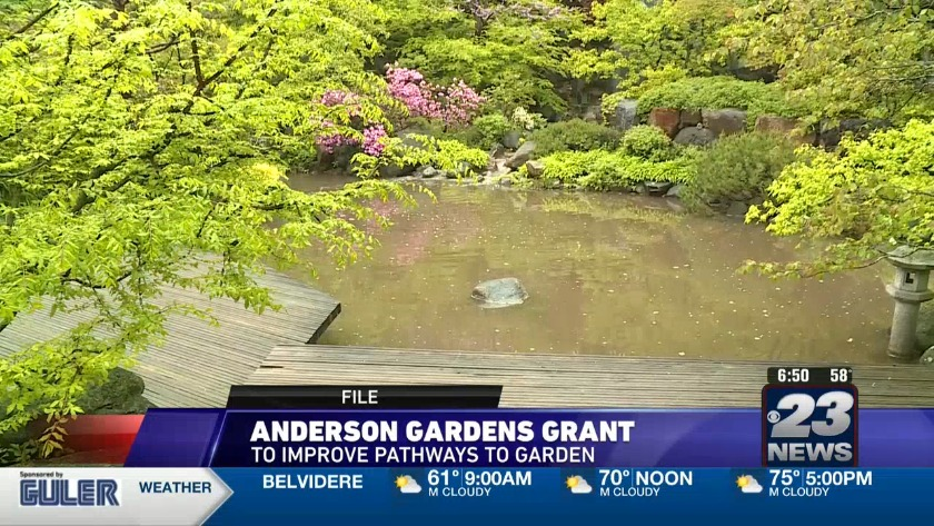 Anderson Japanese Gardens Receives A 30 000 Grant To Improve Accessibility