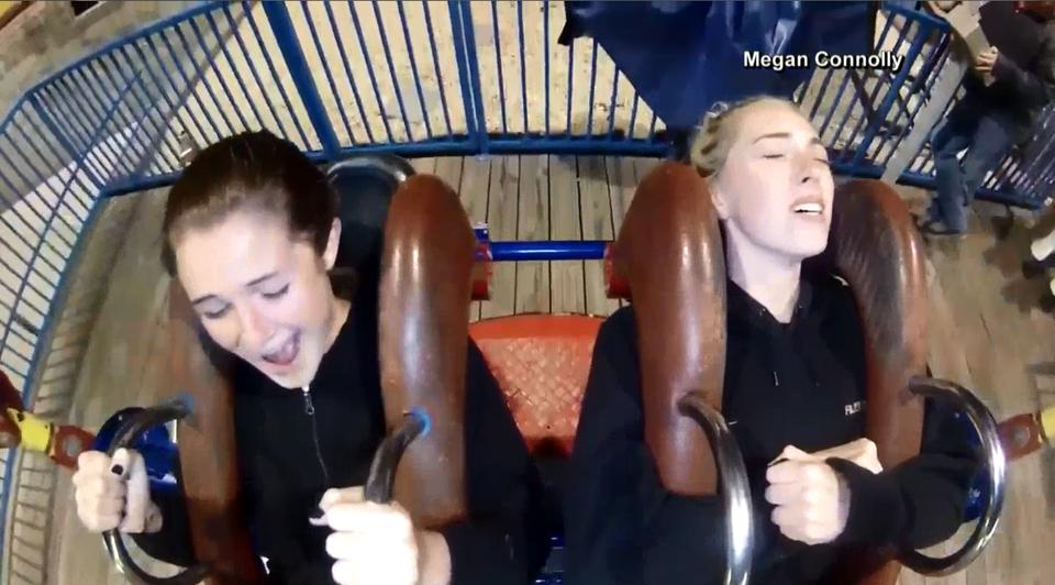 Video of slingshot ride goes viral