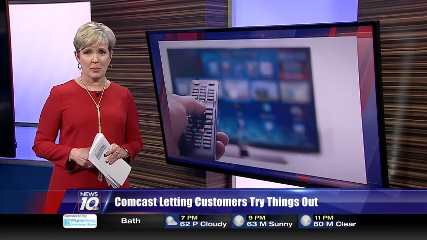 Comcast letting customers try things out