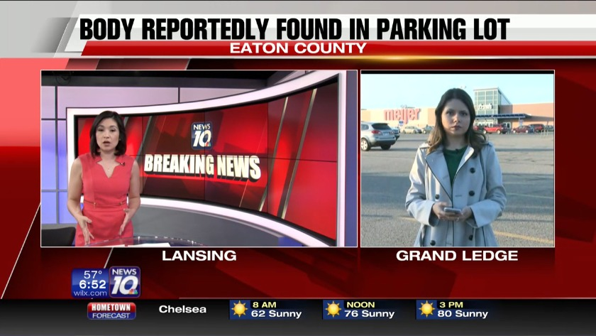 Body found in SUV parked at grocery store