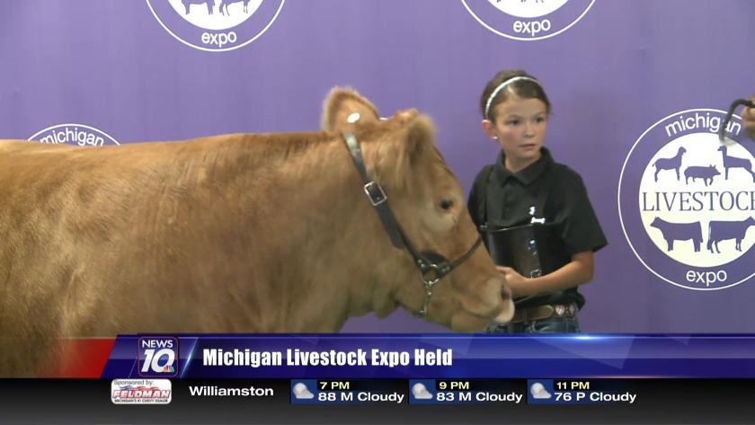Michigan livestock expo held