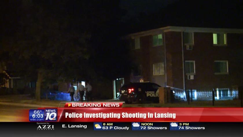 Police investigating shooting in Lansing