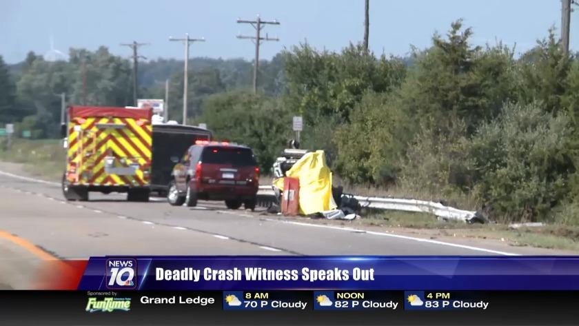 Witness talks about crash that killed MSU professor