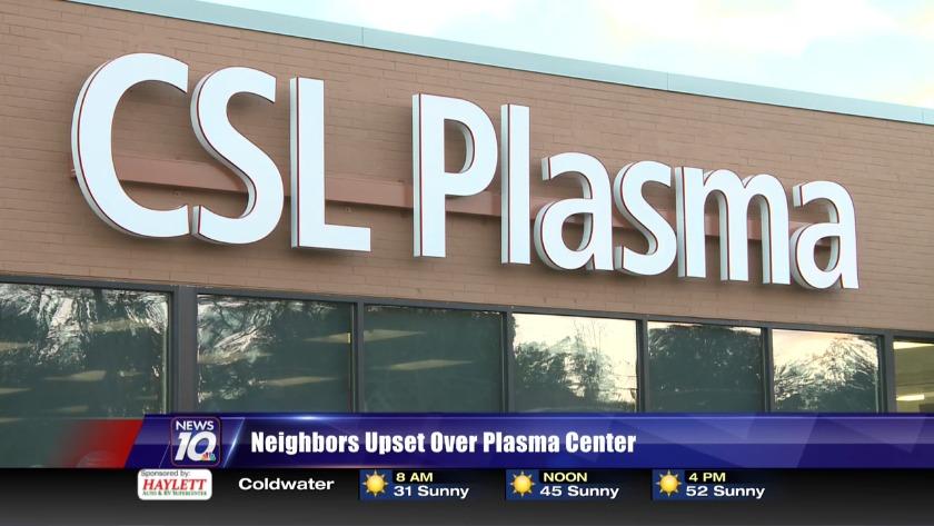 Residents react to new Jackson plasma donation center