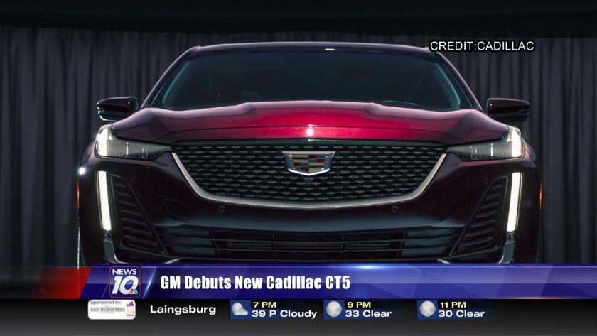 Cadillac Evening News >> Gm Debuts New Cadillac Ct5