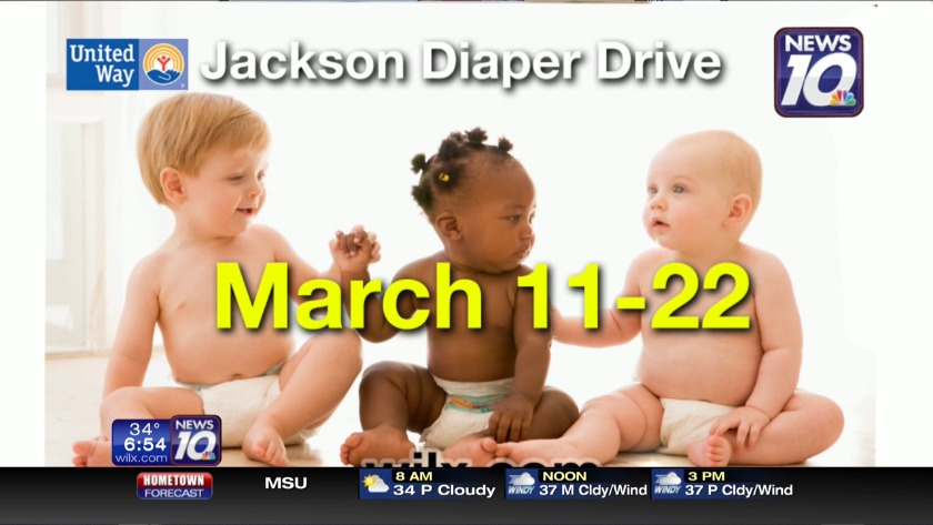 e046d6e56ab Last day to donate to the United Way of Jackson County diaper drive