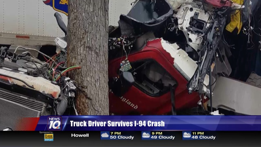 UPDATE: Driver that crashed into trees near Jackson was from