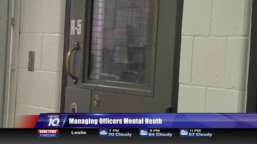 Corrections officer speaks out about high depression rate on