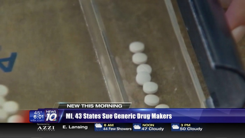 Michigan, 43 other states suing drug manufacturers