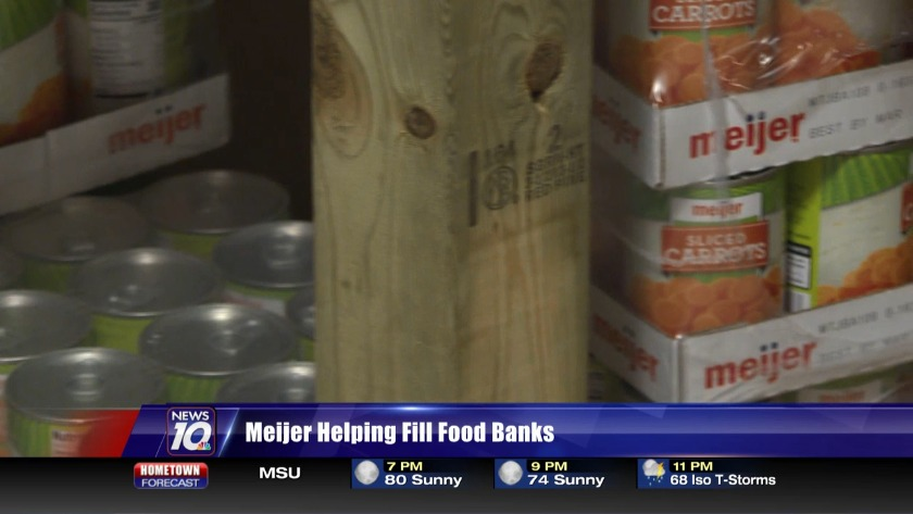 Meijer helping fill food banks
