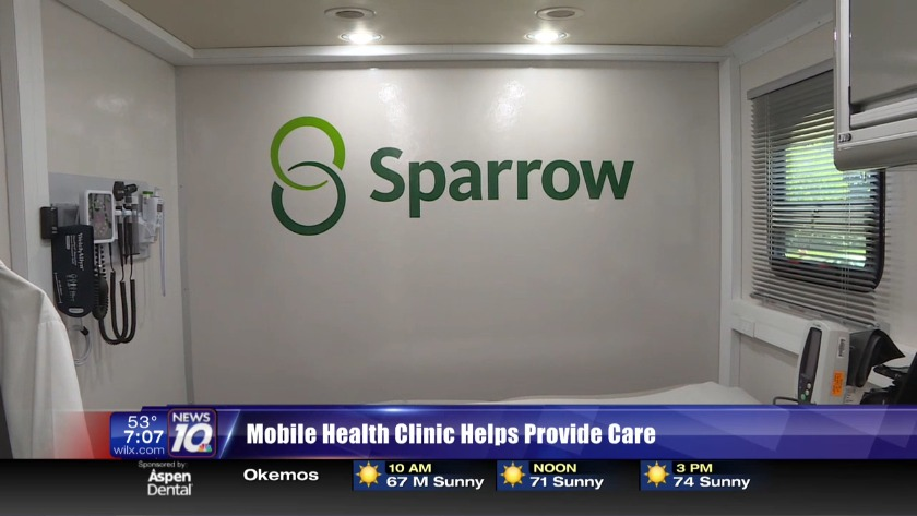 Sparrow bringing basic health care to local residents