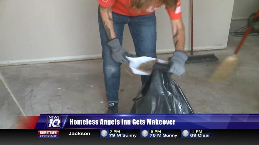Homeless Angels Inn gets makeover