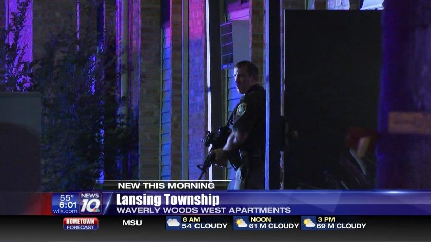 Lansing Township Police react to potential shooting situation
