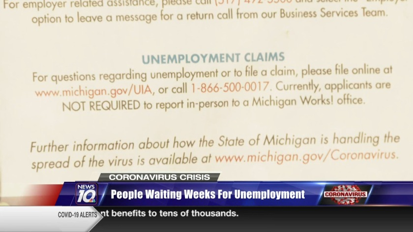 People Still Waiting More Than A Month For Unemployment Checks