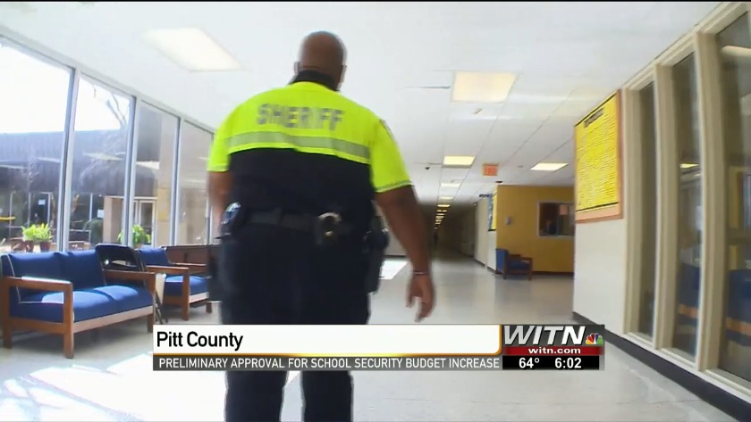 Pitt County Commissioners give preliminary ok for school safety