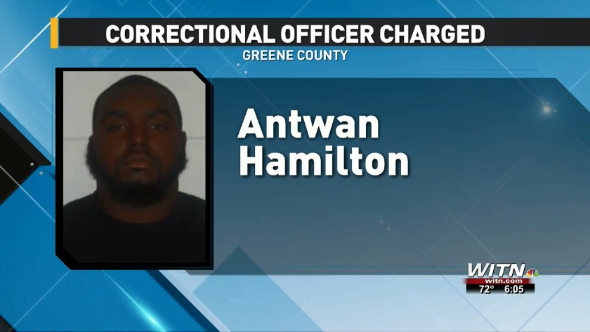 Correctional officer accused of bringing contraband into