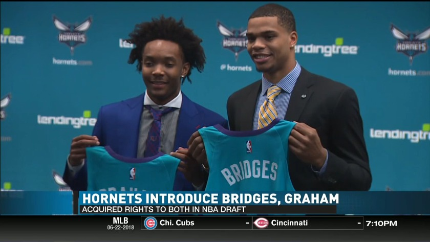 57012d995 Hornets Acquire Draft Rights to Miles Bridges and Devonte  Graham