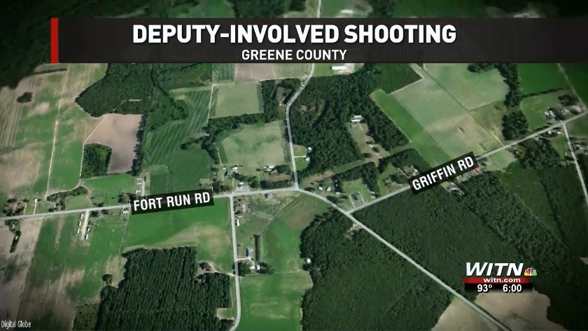 SBI: Chief deputy wounded man in Friday Greene County shooting