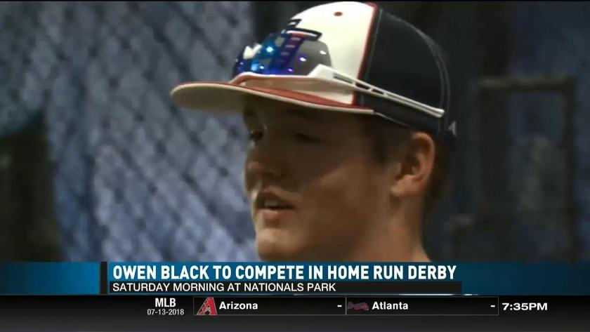 41015fe5236a26 Owen Black set to compete in 2018 MLB Jr. Home Run Derby