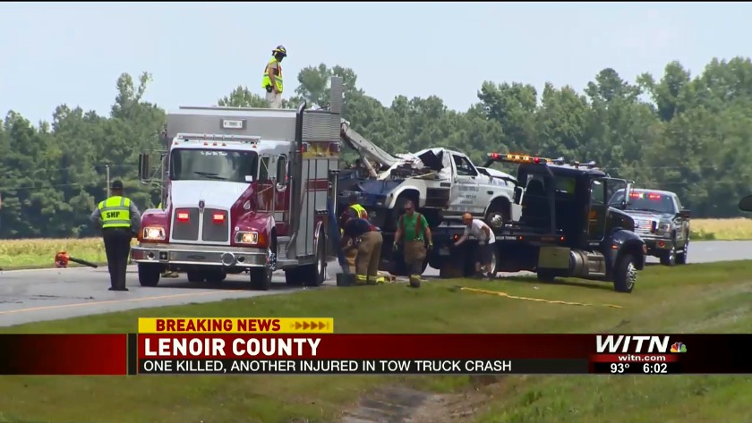 Tow truck crash victims were athletes at North Lenoir High