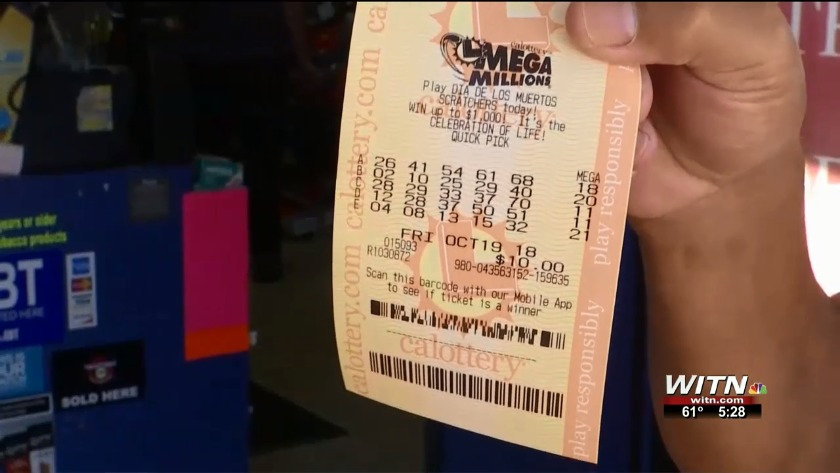 Winning Mega Millions ticket sold in South Carolina