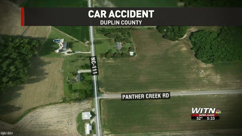 Woman in critical condition after Duplin County crash