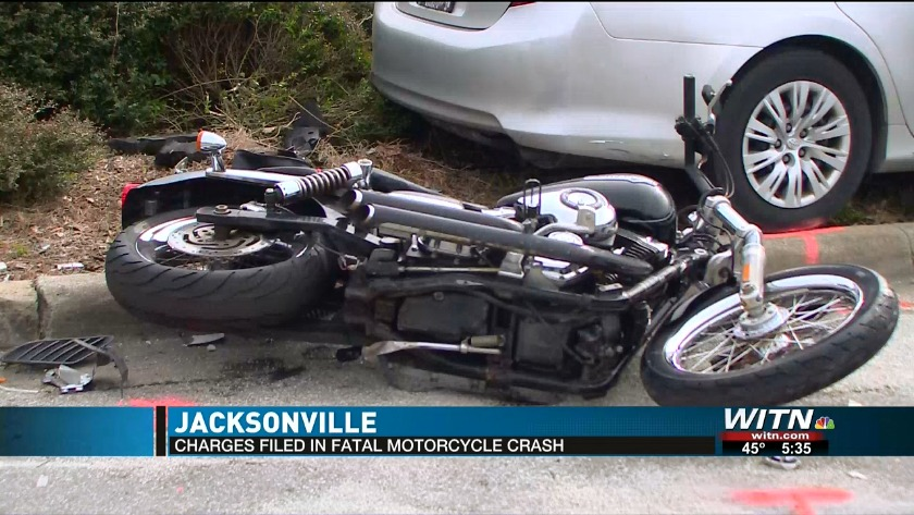 Charges filed in fatal motorcycle crash, victim identified