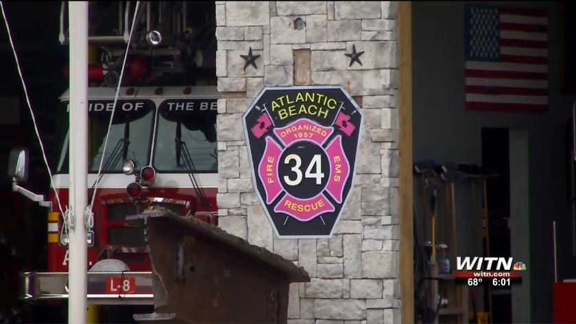 Services today for Atlantic Beach Fire Chief Adam Snyder