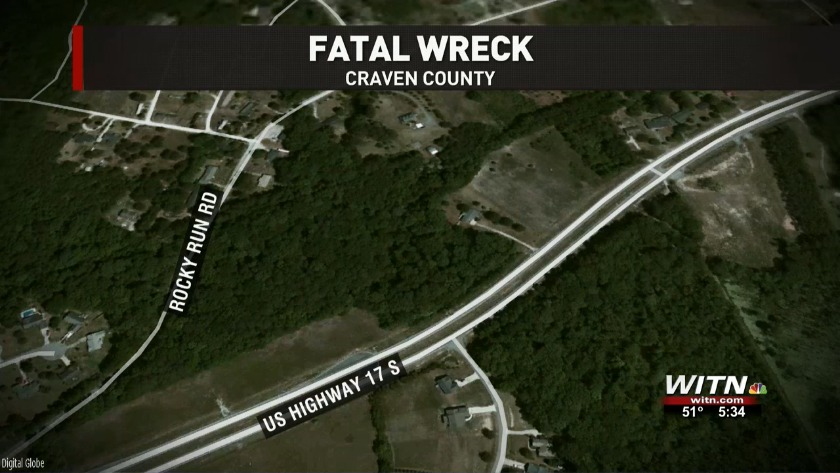 TROOPERS: Driver charged in Craven County wreck that killed passenger