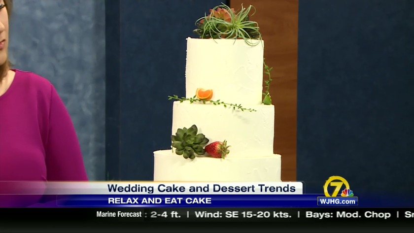 Wedding Week: cake and dessert trends