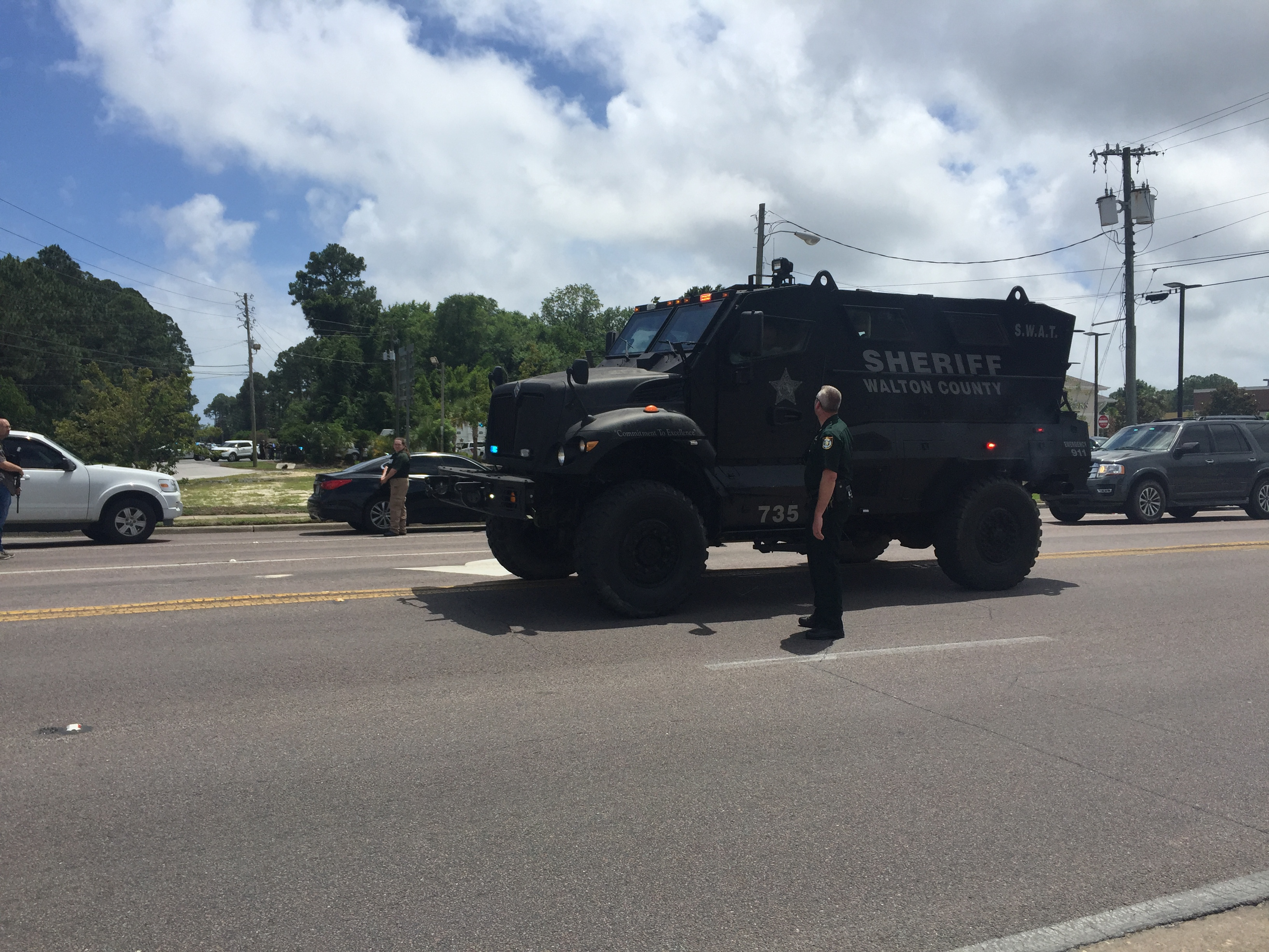 Suspected shooter dead after hours long standoff in Panama City