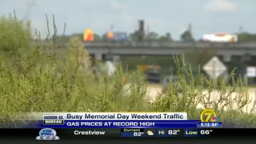 Record travel numbers and gas prices this Memorial Day weekend