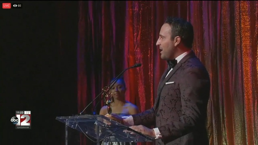 ABC12's Ryan Slocum brings home Michigan Emmy Award for Best