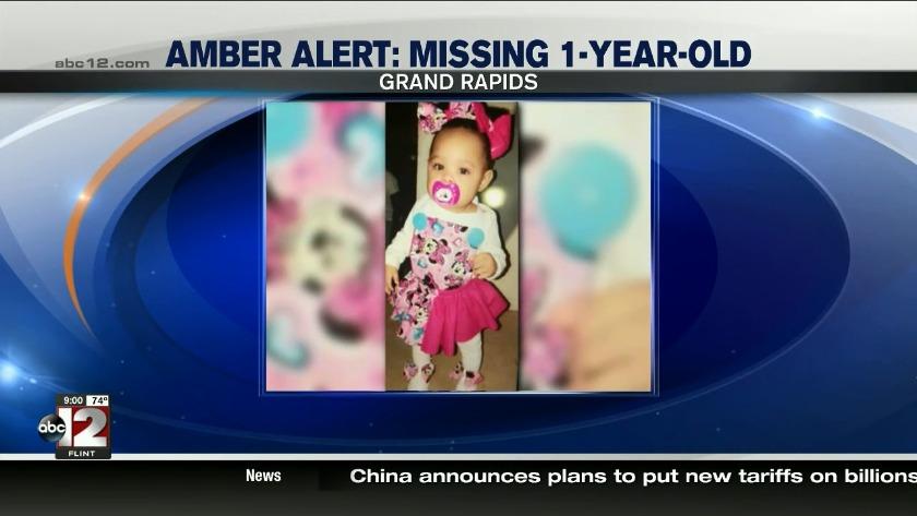 4dcd8f47e7 Amber Alert canceled for 1-year-old missing girl
