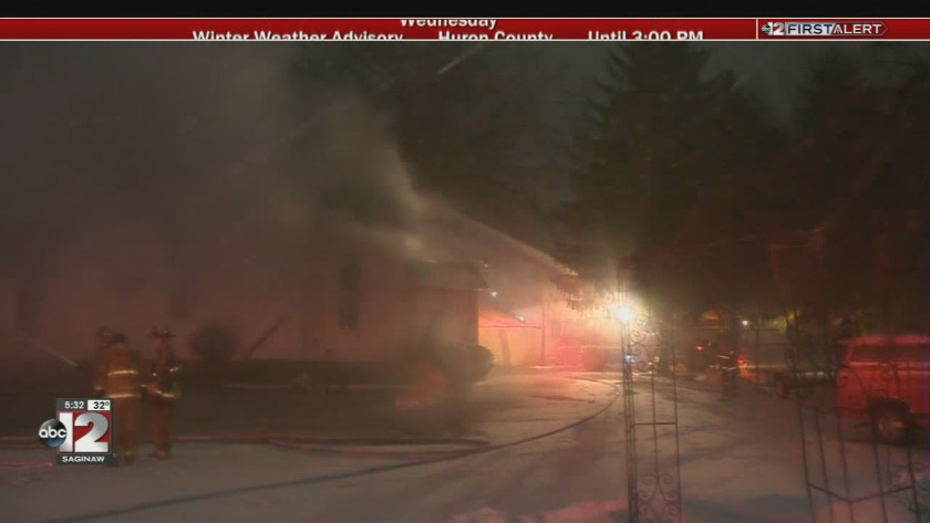 Investigation Continues Into Saginaw Church Fire